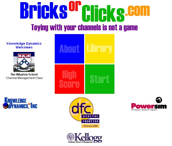 Logo for BricksOrClicks Channel Conflict Simulation